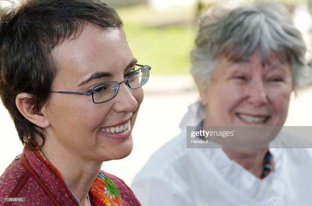 In this handout image provided by Giffords Campaign - P.K. Weis, U.S. Rep. <a gi-track='captionPersonalityLinkClicked' href=/galleries/search?phrase=Gabrielle+Giffords&family=editorial&specificpeople=6961081 ng-click='$event.stopPropagation()'>Gabrielle Giffords</a> (D-AZ) sits with her mother Gloria Giffords (R) the day after the launch of NASA space shuttle Endeavour and the day before she had her cranioplasty surgery, outside TIRR Memorial Hermann Hospital May 17, 2011 in Houston, Texas. Aides of Rep. <a gi-track='captionPersonalityLinkClicked' href=/galleries/search?phrase=Gabrielle+Giffords&family=editorial&specificpeople=6961081 ng-click='$event.stopPropagation()'>Gabrielle Giffords</a> posted two recent photos of the congresswoman to her public Facebook page, the first since the January 8 shooting that killed six people died and a dozen others were wounded.