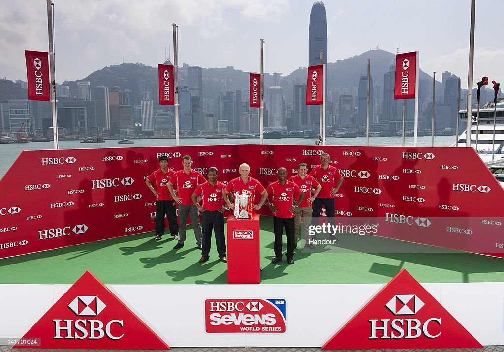 In this handout image provided by HSBC, renowned Martial Arts Master Li Fai conducts a Tai Chi workshop today with HSBC Rugby Ambassadors Gavin Hastings, Jonathan Davies, Gordon Tietjens, George Gregan, John Kirwan, Johnny Zhang and Hong Kong Rugby team captain, Rowan Varty ahead of the HSBC Sevens World Series to be held on March 23-25 2012 in Hong Kong, China.