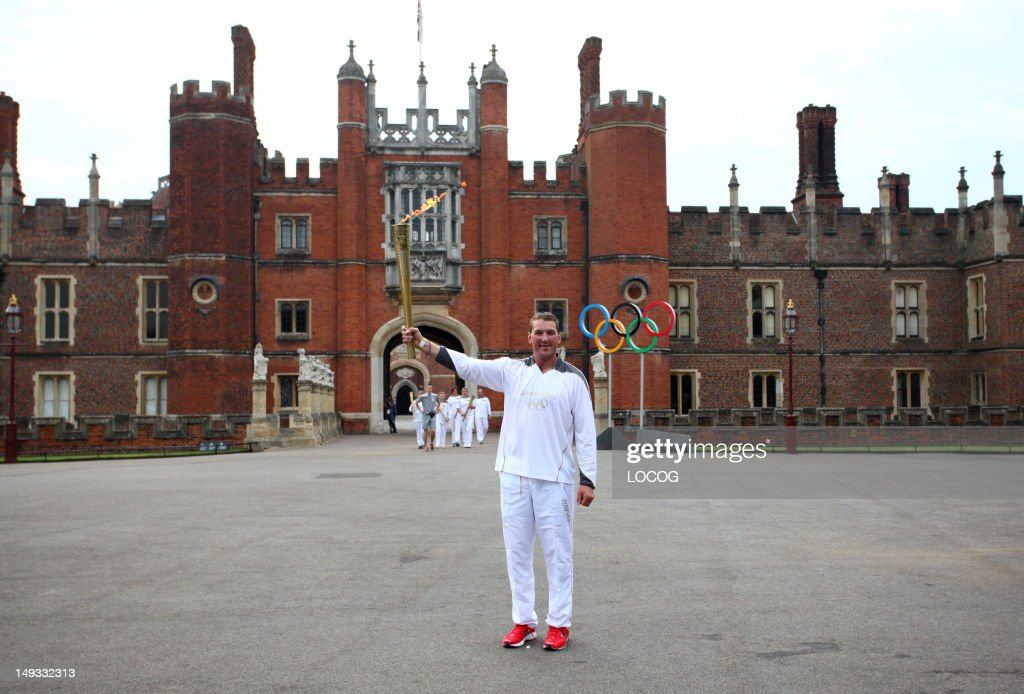 The Olympic Torch Continues Its Journey Around London