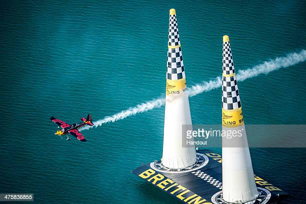 In this handout image provided by Red Bull Kirby Chambliss of the United States of America performs during the race for the first stage of the Red...