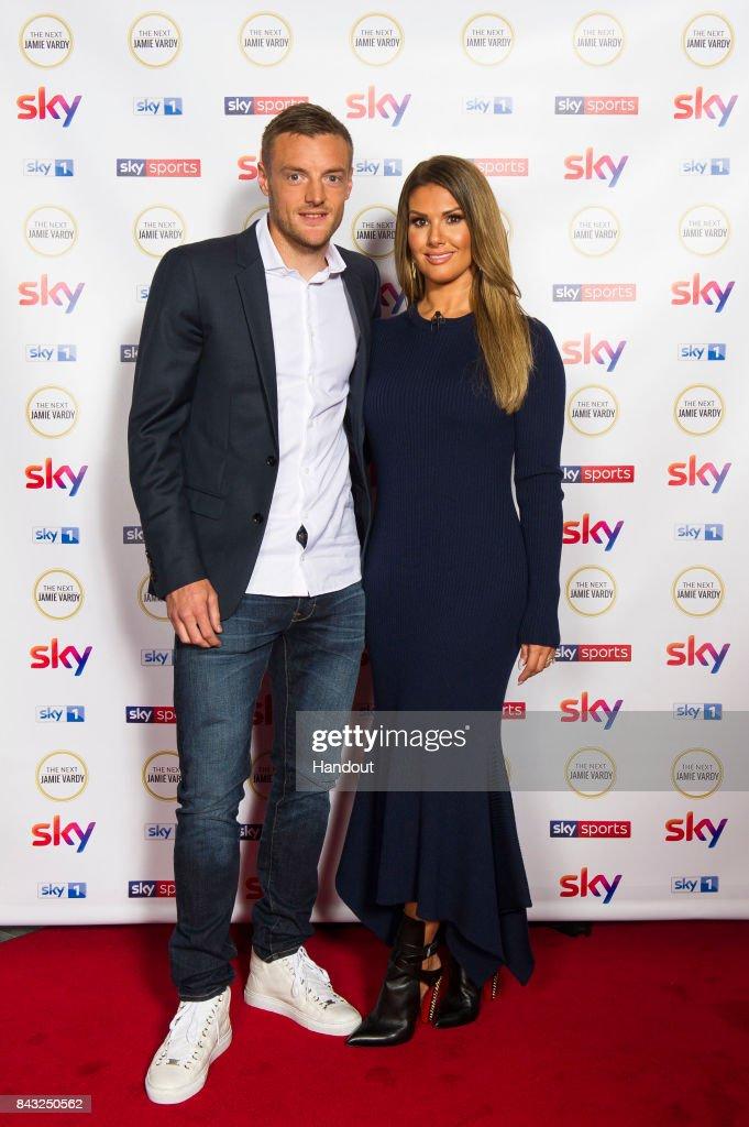 "Jamie Vardy Attends The Premiere of Sky's ""The Next Jamie Vardy"""