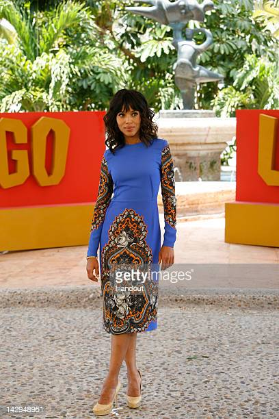 In this handout image provided by Sony Kerry Washington attends the 'Django Unchained' photo call at Summer of Sony 4 Spring Edition held at The Ritz...