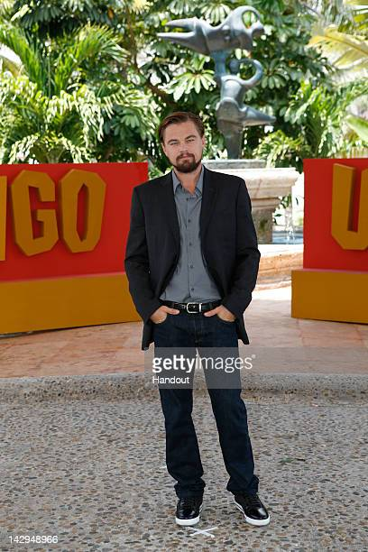 In this handout image provided by Sony Leonardo DiCaprio attends the 'Django Unchained' photo call at Summer of Sony 4 Spring Edition held at The...