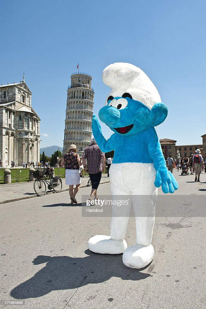 In this handout image provided by Sony Pictures Entertainment, a general view of atmosphere at Global Smurfs Day 2013 celebration on June 22, 2013 in Rome, Italy.