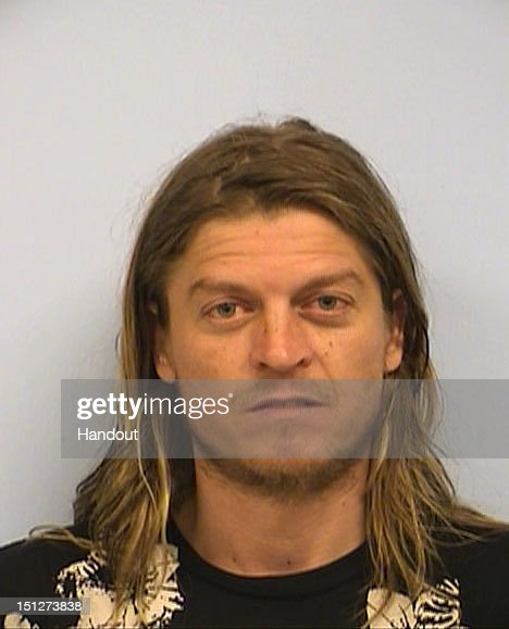 In this handout image provided by the Austin Police Department, musician Wes Scantlin is seen in a police booking photo September 4, 2012 in Austin, Texas. Scantlin was arrested after an altercation with a flight attendant on a cross-country flight from Boston to Los Angeles which lead to the plane making an emergency landing in Austin. Scantlin was charged with public intoxication.