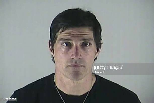 In this handout image provided by the Deschutes County Sheriff's Office actor Matthew Fox is seen in a police booking photo June 29 2012 in Bend...