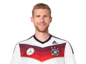 In this handout image provided by the DFB Per Mertesacker poses during the German National Team presentation on November 15 2013 in Germany