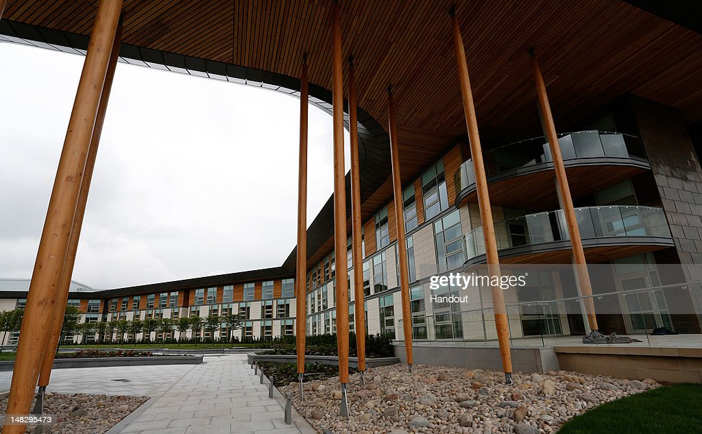 In this handout image provided by The FA, A general view of the Hilton Hotel during a media event at the Football Association's new National Football Centre, St George's Park on July 10, 2012 in Burton, England.