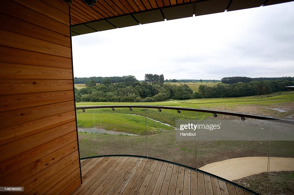 In this handout image provided by The FA, A general view over the countryside from the balcony of the Sir Bobby Charlton Suite at the Hilton Hotel during a media event at the Football Association's new National Football Centre, St George's Park on July 10, 2012 in Burton, England.