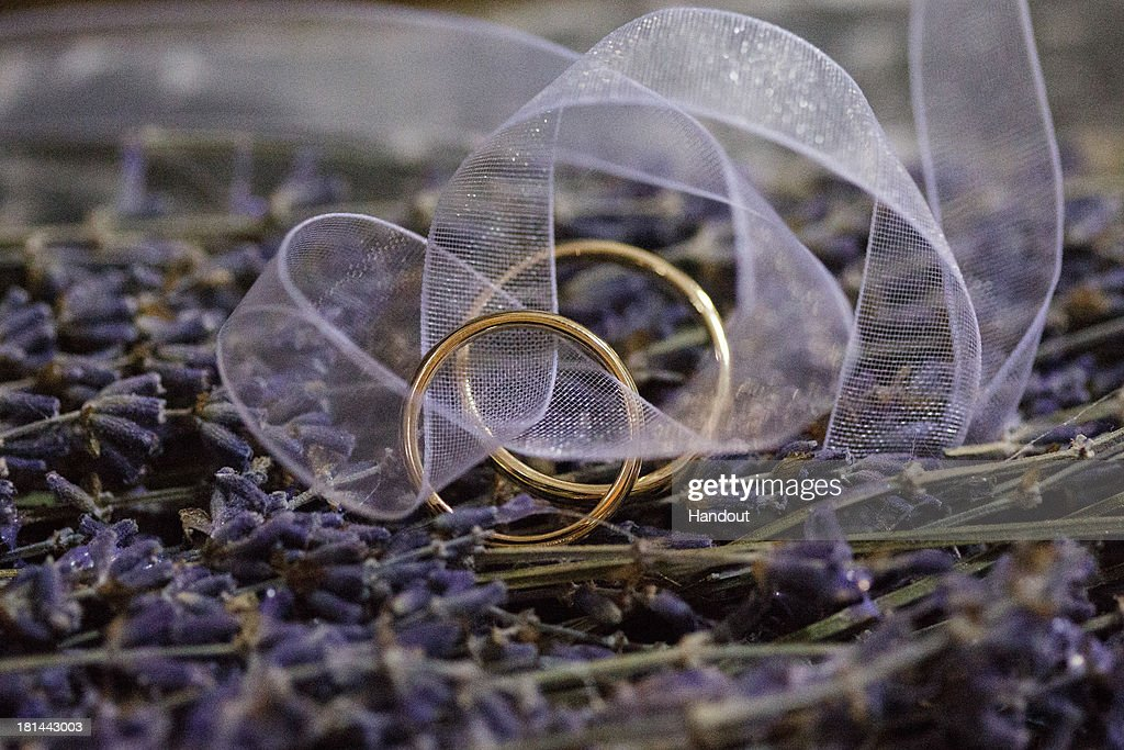 In this handout image provided by the Grand-Ducal Court of Luxembourg, a close up of the wedding rings is seen during the wedding ceremony of Prince Felix Of Luxembourg and Princess Claire Of Luxembourg at the Basilique Sainte Marie-Madeleine on September 21, 2013 in Saint-Maximin-La-Sainte-Baume, France. ©Grand-Ducal Court/Guy Wolff/All rights reserved.