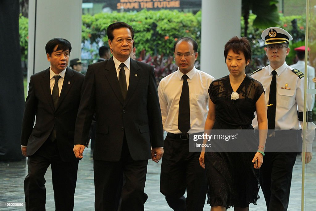 The Funeral Of Former Singaporean Prime Minister Lee Kuan Yew