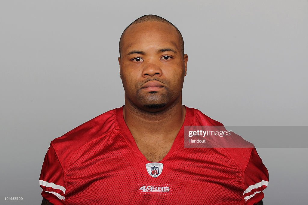 In this handout image provided by the NFL, <a gi-track='captionPersonalityLinkClicked' href=/galleries/search?phrase=Ahmad+Brooks&family=editorial&specificpeople=2326499 ng-click='$event.stopPropagation()'>Ahmad Brooks</a> of the San Francisco 49ers poses for his NFL headshot circa 2011 in San Francisco, California.