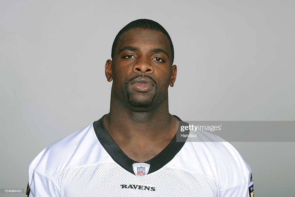 In this handout image provided by the NFL, Bernard Pollard of the Baltimore Ravens poses for his NFL headshot circa 2011 in Baltimore,Maryland.