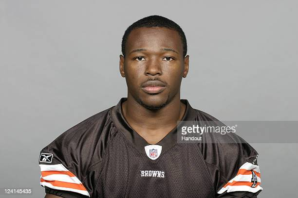 In this handout image provided by the NFL Brandon Jackson of the Cleveland Browns poses for his NFL headshot circa 2011 in Berea Ohio