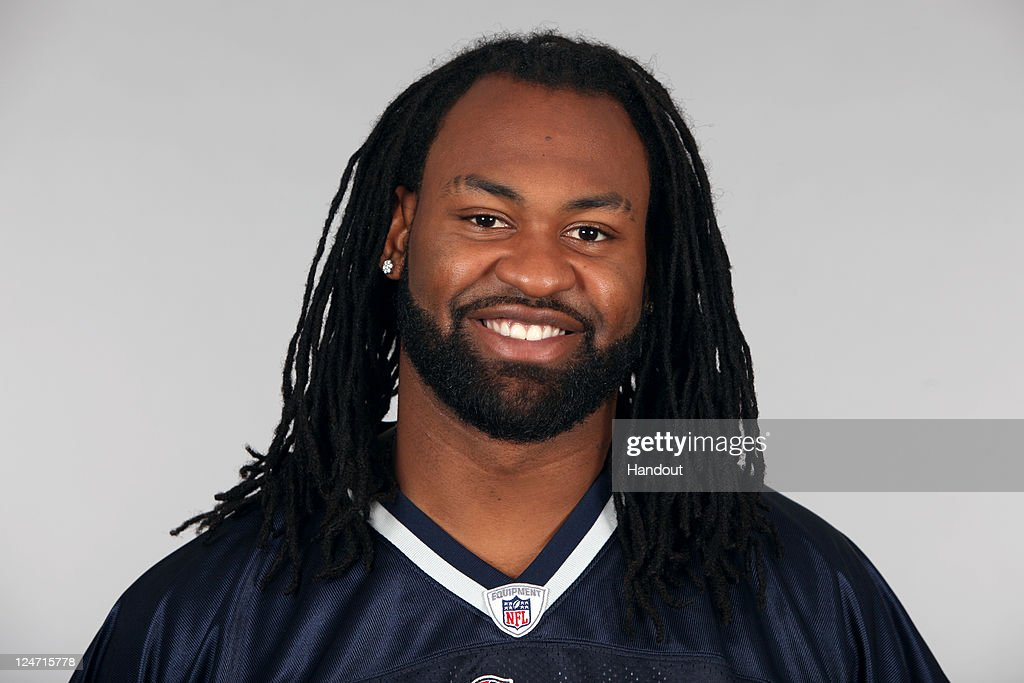 In this handout image provided by the NFL, <a gi-track='captionPersonalityLinkClicked' href=/galleries/search?phrase=Brandon+Spikes&family=editorial&specificpeople=2972710 ng-click='$event.stopPropagation()'>Brandon Spikes</a> of the New England Patriots poses for his NFL headshot circa 2011 in Foxborough, Massachusetts.