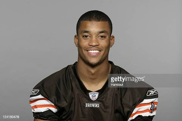 In this handout image provided by the NFL Brian Robiskie of the Cleveland Browns poses for his NFL headshot circa 2011 in Berea Ohio