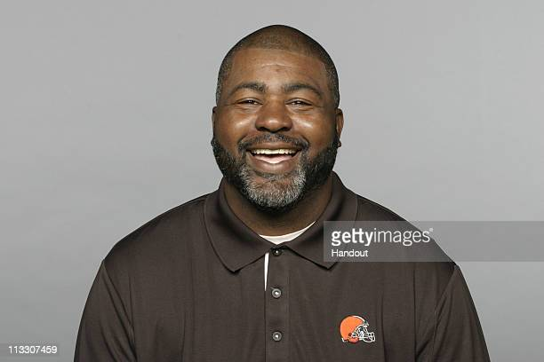 In this handout image provided by the NFL Bryan Cox of the Cleveland Browns poses for his 2010 NFL headshot circa 2010 in Berea Ohio