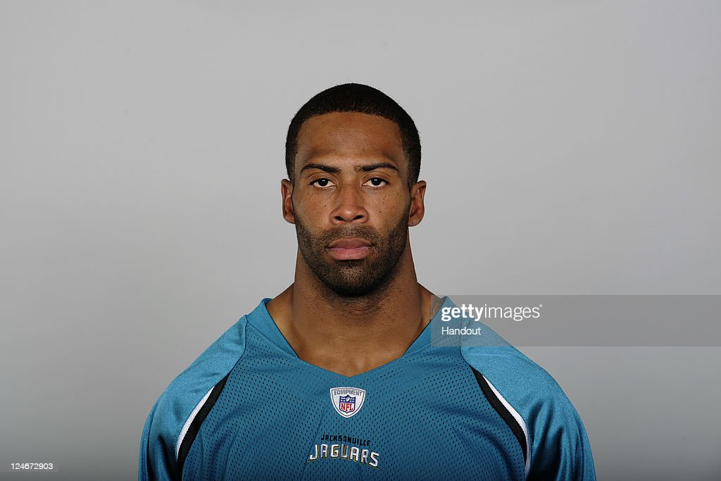 In this handout image provided by the NFL, <a gi-track='captionPersonalityLinkClicked' href=/galleries/search?phrase=Dawan+Landry&family=editorial&specificpeople=575013 ng-click='$event.stopPropagation()'>Dawan Landry</a> of the Jacksonville Jaguars poses for his NFL headshot circa 2011 in Jacksonville, Florida.