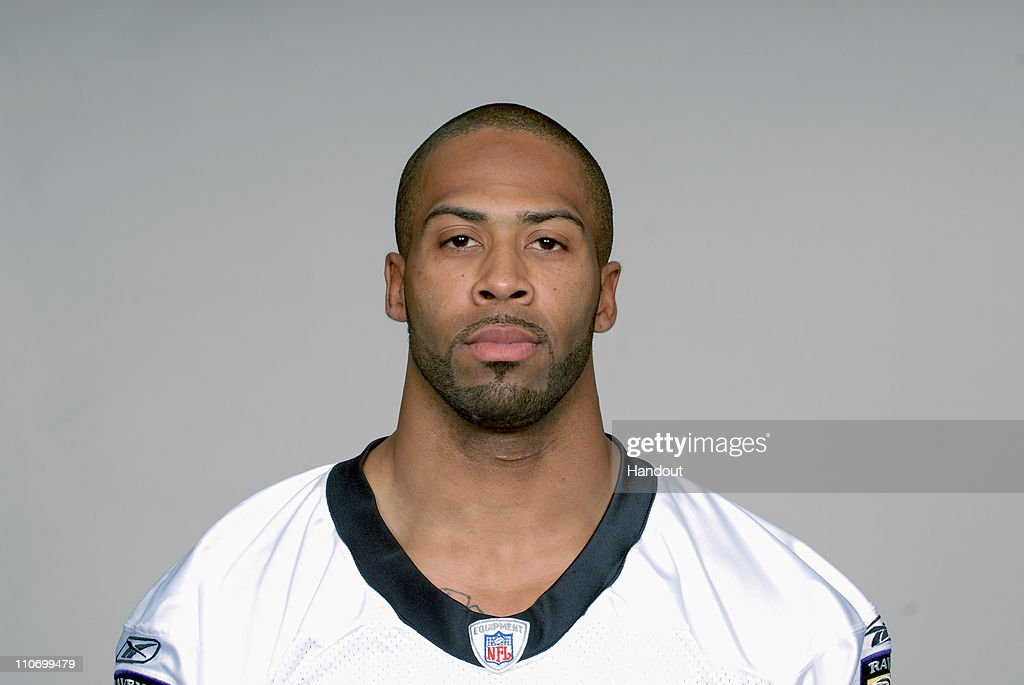 In this handout image provided by the NFL , <a gi-track='captionPersonalityLinkClicked' href=/galleries/search?phrase=Dawan+Landry&family=editorial&specificpeople=575013 ng-click='$event.stopPropagation()'>Dawan Landry</a> of the Baltimore Ravens poses for his 2010 NFL headshot circa 2010 in Baltimore, Maryland.