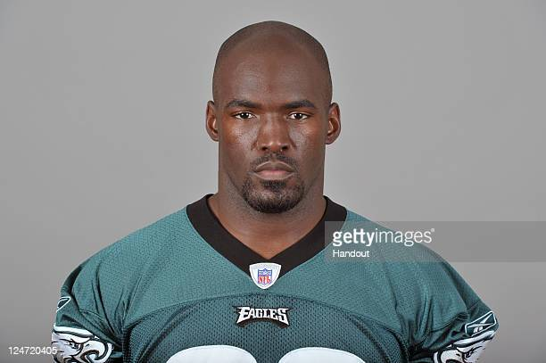 In this handout image provided by the NFL Donald Lee of the Philadelphia Eagles poses for his NFL headshot circa 2011 in Philadelphia Pennsylvania
