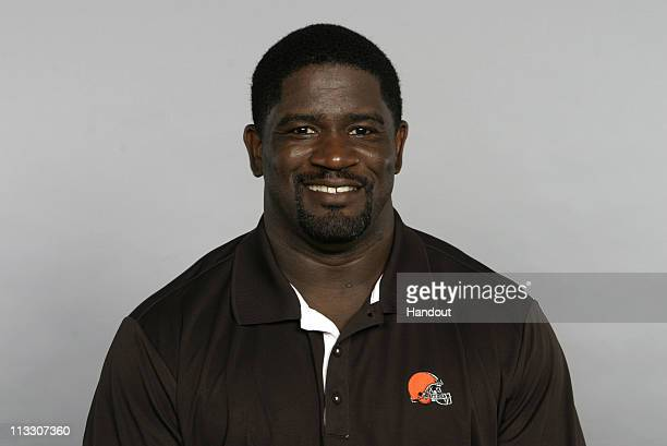 In this handout image provided by the NFL Gary Brown of the Cleveland Browns poses for his 2010 NFL headshot circa 2010 in Berea Ohio