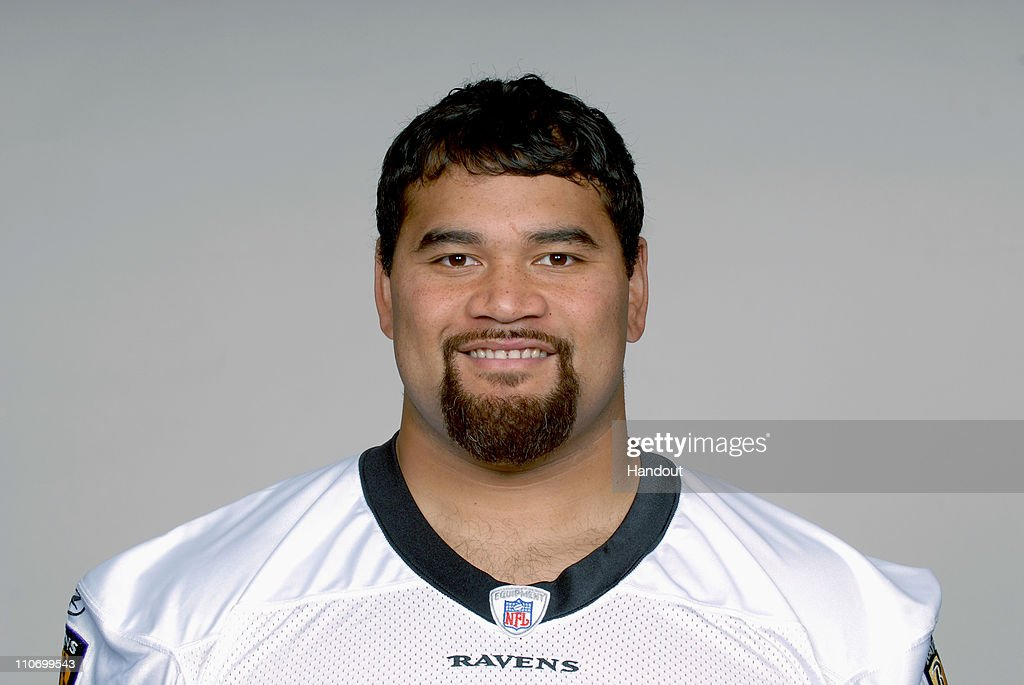 In this handout image provided by the NFL , <a gi-track='captionPersonalityLinkClicked' href=/galleries/search?phrase=Haloti+Ngata&family=editorial&specificpeople=622374 ng-click='$event.stopPropagation()'>Haloti Ngata</a> of the Baltimore Ravens poses for his 2010 NFL headshot circa 2010 in Baltimore, Maryland.