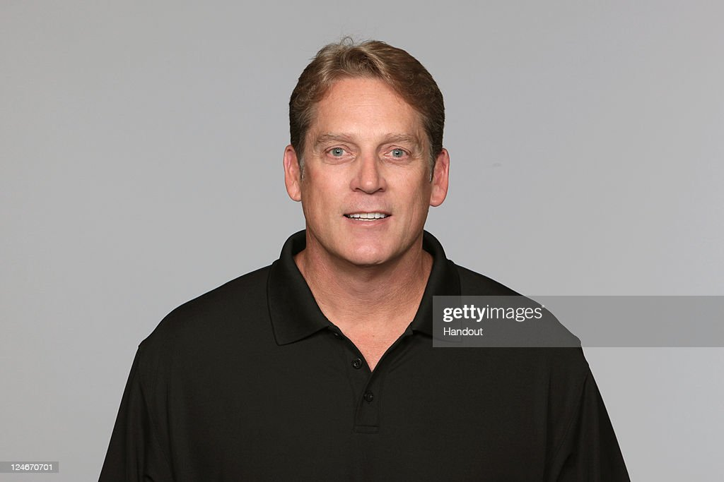 In this handout image provided by the NFL, <a gi-track='captionPersonalityLinkClicked' href=/galleries/search?phrase=Jack+Del+Rio&family=editorial&specificpeople=184508 ng-click='$event.stopPropagation()'>Jack Del Rio</a> of the Jacksonville Jaguars poses for his NFL headshot circa 2011 in Jacksonville, Florida.