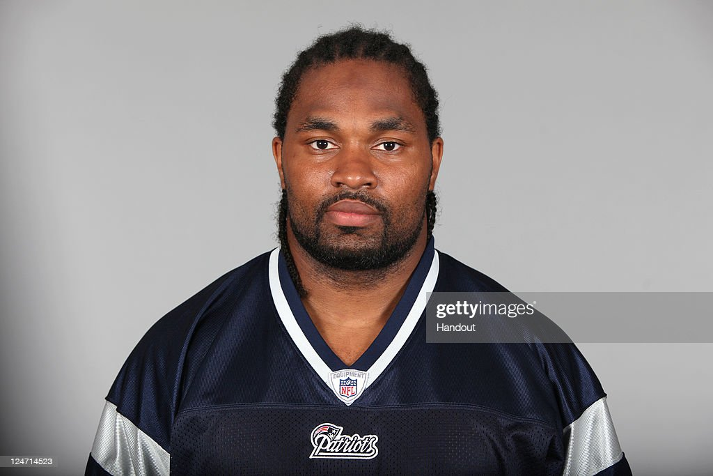 In this handout image provided by the NFL, <a gi-track='captionPersonalityLinkClicked' href=/galleries/search?phrase=Jerod+Mayo&family=editorial&specificpeople=2172698 ng-click='$event.stopPropagation()'>Jerod Mayo</a> of the New England Patriots poses for his NFL headshot circa 2011 in Foxborough, Massachusetts.
