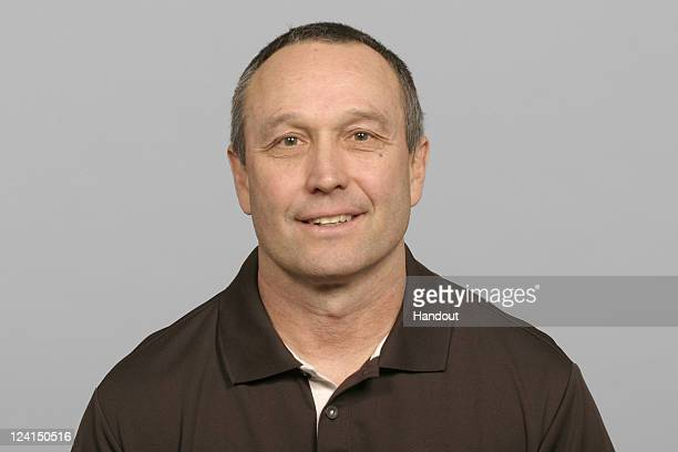 In this handout image provided by the NFL Kent Johnston of the Cleveland Browns poses for his NFL headshot circa 2011 in Berea Ohio