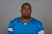 In this handout image provided by the NFL Nick Fairley of the Detroit Lions poses for his NFL headshot circa 2011 in Detroit Michigan