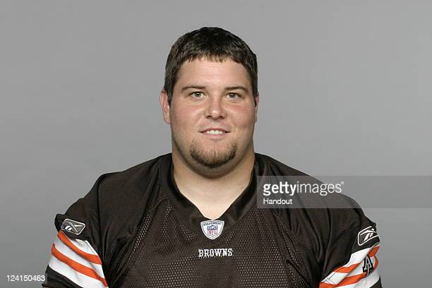 In this handout image provided by the NFL Pat Murray of the Cleveland Browns poses for his NFL headshot circa 2011 in Berea Ohio