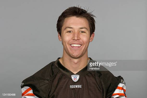 In this handout image provided by the NFL Richmond McGee of the Cleveland Browns poses for his NFL headshot circa 2011 in Berea Ohio