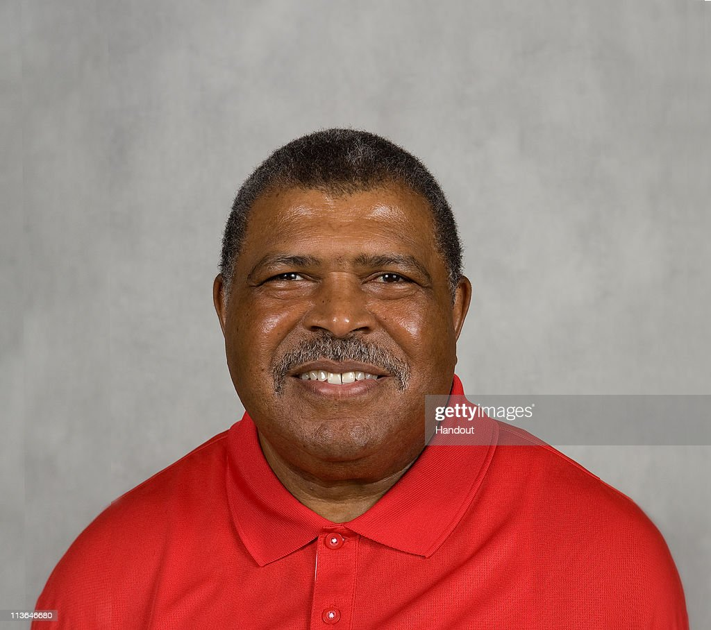 In this handout image provided by the NFL, <a gi-track='captionPersonalityLinkClicked' href=/galleries/search?phrase=Romeo+Crennel&family=editorial&specificpeople=564028 ng-click='$event.stopPropagation()'>Romeo Crennel</a> of the Kansas City Chiefs poses for his 2010 NFL headshot circa 2010 in Kansas City, Missouri.