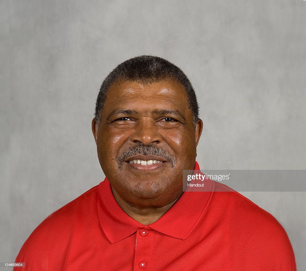 In this handout image provided by the NFL, <a gi-track='captionPersonalityLinkClicked' href=/galleries/search?phrase=Romeo+Crennel&family=editorial&specificpeople=564028 ng-click='$event.stopPropagation()'>Romeo Crennel</a> of the Kansas City Chiefs poses for his NFL headshot circa 2011 in Kansas City, Missouri.