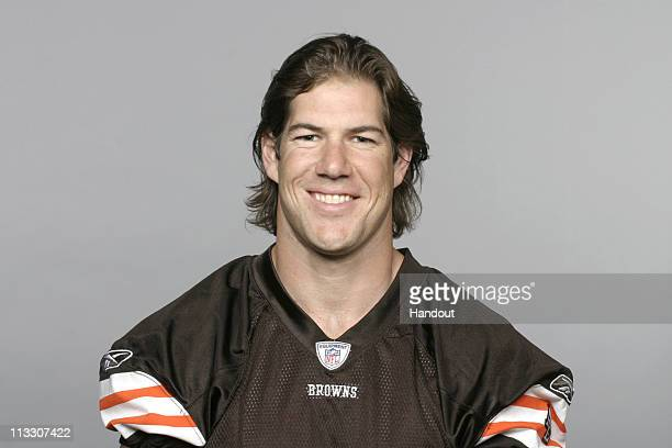In this handout image provided by the NFL Scott Fujita of the Cleveland Browns poses for his 2010 NFL headshot circa 2010 in Berea Ohio