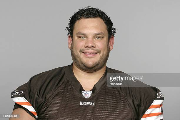 In this handout image provided by the NFL Scott Kooistra of the Cleveland Browns poses for his 2010 NFL headshot circa 2010 in Berea Ohio
