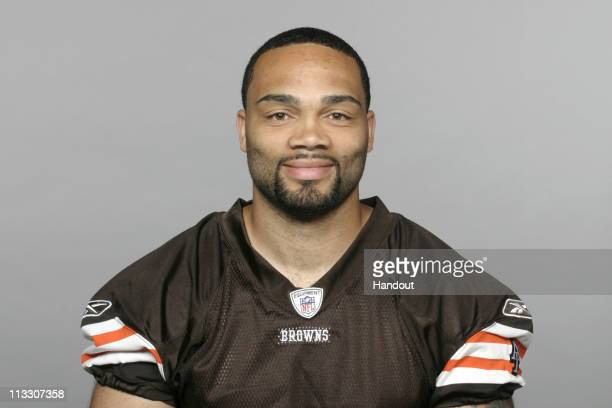 In this handout image provided by the NFL Seneca Wallace of the Cleveland Browns poses for his 2010 NFL headshot circa 2010 in Berea Ohio