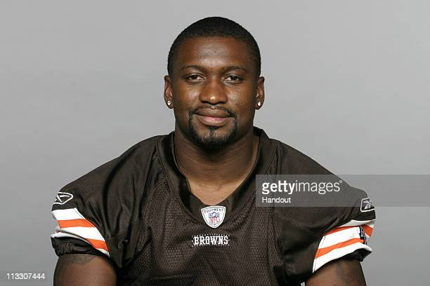 In this handout image provided by the NFL Sheldon Brown of the Cleveland Browns poses for his 2010 NFL headshot circa 2010 in Berea Ohio