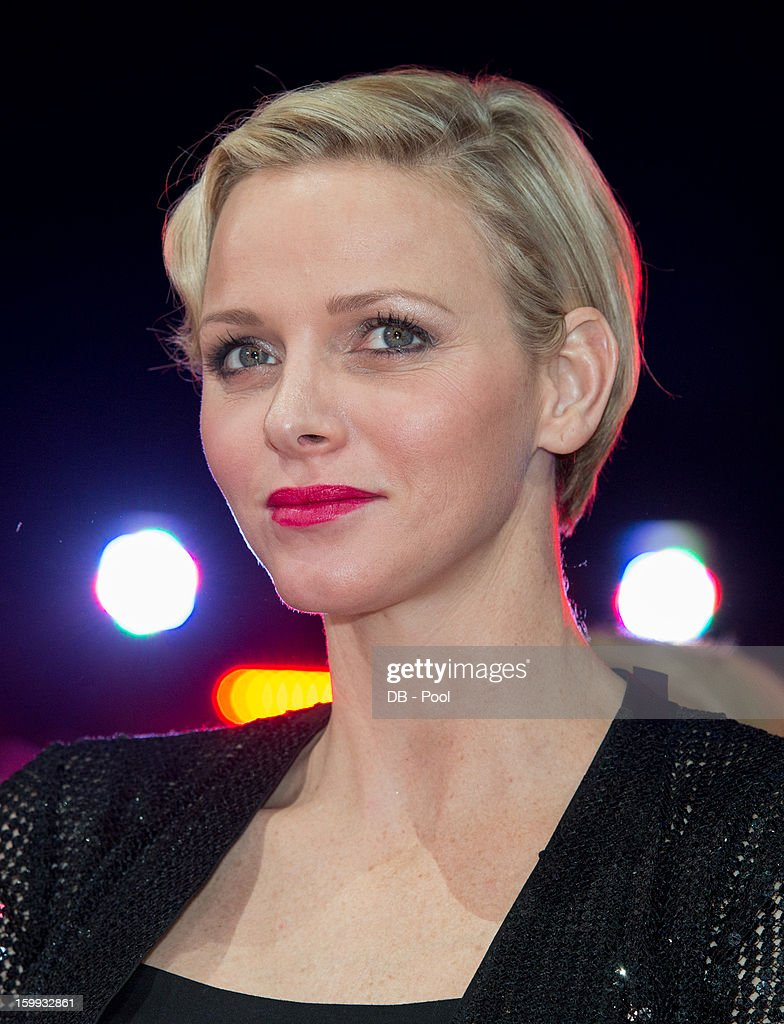 In this handout image provided by the Palais Princier de Monaco, Princess Charlene of Monaco attends the the Monte-Carlo 37th International Circus Festival Awards Ceremony on January 22, 2013 in Monte-Carlo, Monaco.