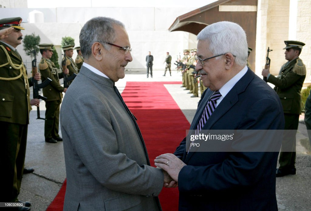 Jose Ramos-Horta President of the Democratic Republic of East Timor Vists Mahmoud Abbas In Ramallah