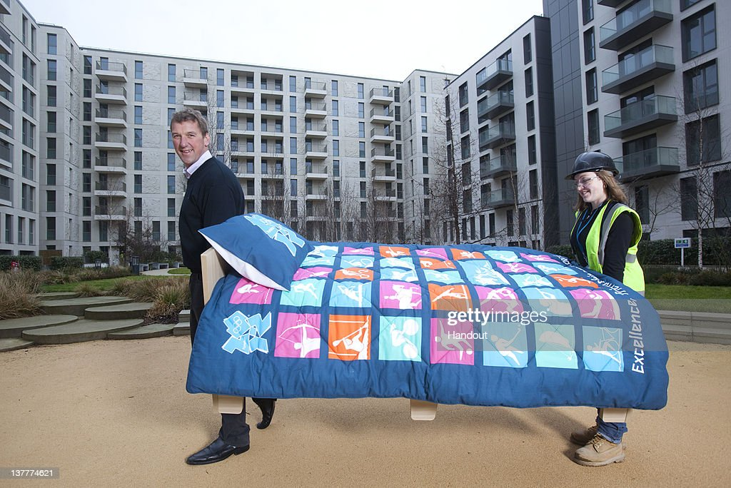 London 2012 Begins 'Bedding In' At Olympic Village Six months Ahead Of The Games