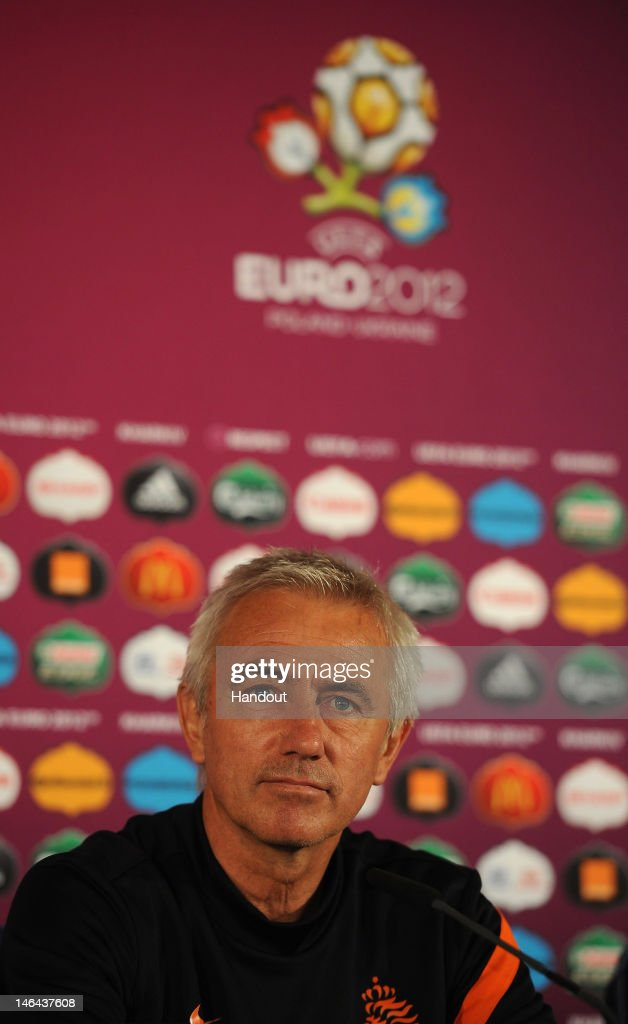 Netherlands Training & Press Conference - Group B: UEFA EURO 2012