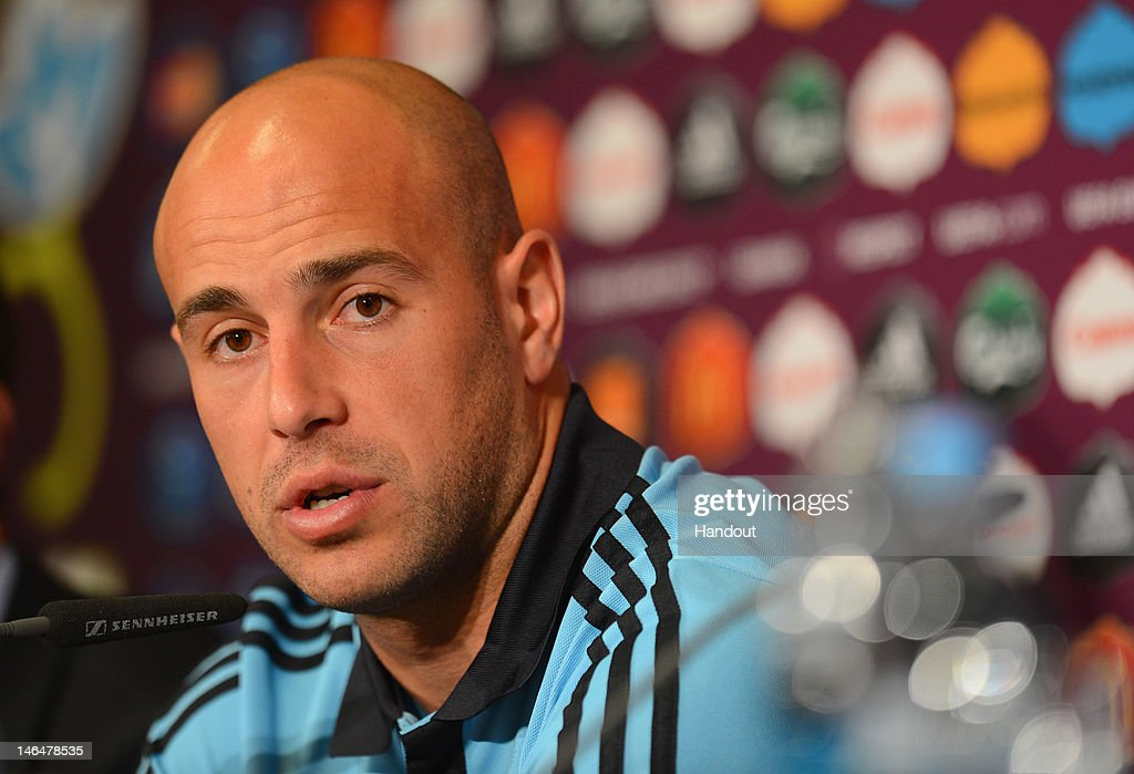 Spain Training and Press Conference - Group C: UEFA EURO 2012