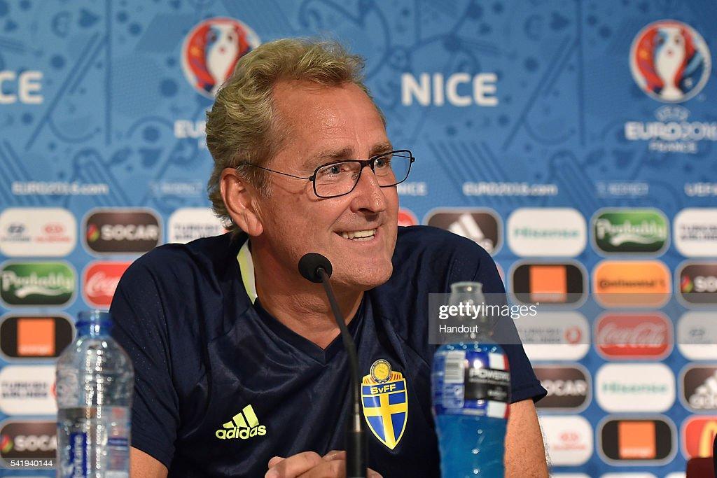 Euro 2016 - Sweden Press Conference