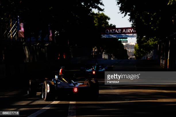 In this handout image supplied by Formula E JeanEric Vergne Techeetah SparkRenault Renault ZE 16 during the FIA Formula E Championship Paris ePrix on...