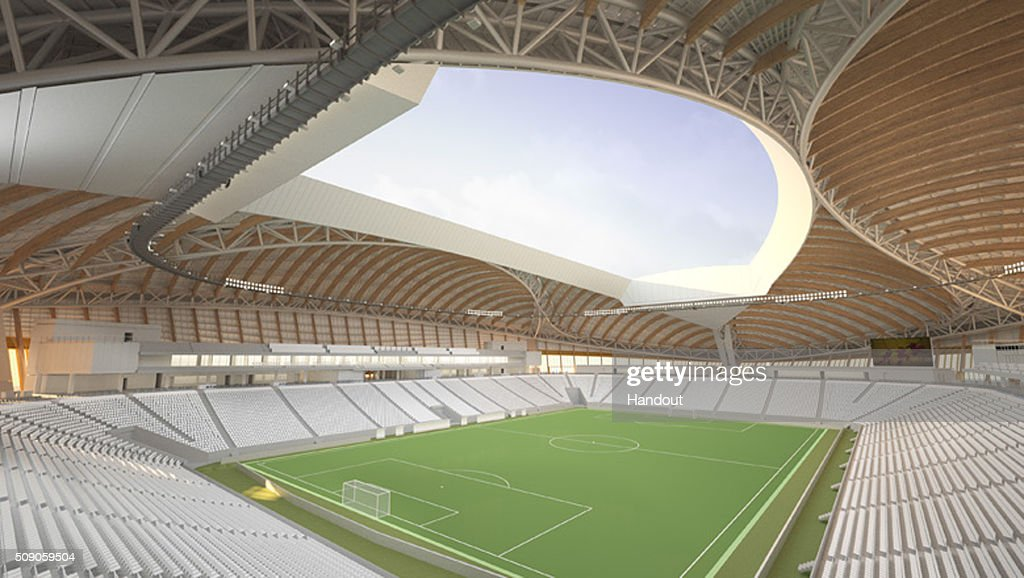In this handout image supplied by Qatar 2022, this artists impression represents Al Wakrah Stadium. Qatar will host the FIFA World Cup in 2022.