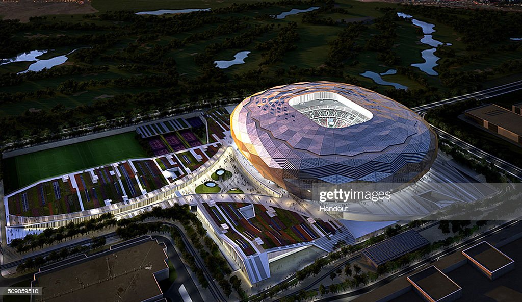 In this handout image supplied by Qatar 2022, this artists impression represents Qatar Foundation Stadium. Qatar will host the FIFA World Cup in 2022.