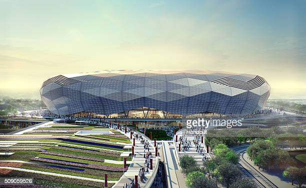 In this handout image supplied by Qatar 2022 this artists impression represents Qatar Foundation Stadium Qatar will host the FIFA World Cup in 2022