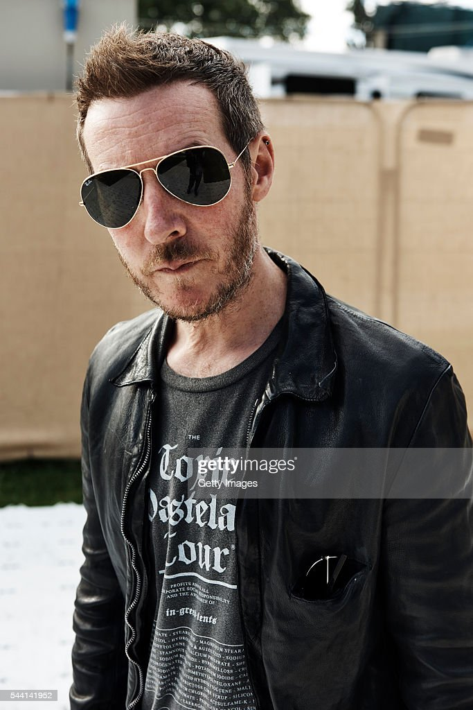 In this handout image supplied by Ray Ban, 3d from Massive Attack wearing Ray-Ban poses at the Ray-Ban Rooms at Barclaycard Presents British Summer Time Hyde Park on July 1, 2016 in London, United Kingdom.