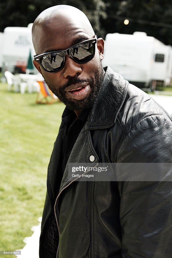 In this handout image supplied by Ray Ban, Ghostpoet wearing Ray-Ban poses at the Ray-Ban Rooms at Barclaycard Presents British Summer Time Hyde Park on July 1, 2016 in London, United Kingdom.